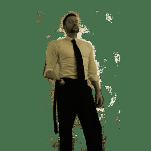 Hemd und Krawatten Fetisch sowie Auspeitschung durch SM Master Andre alias Dominus.Berlin