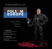 BDSM Master auf SM Straßenmesse Folsom Europe