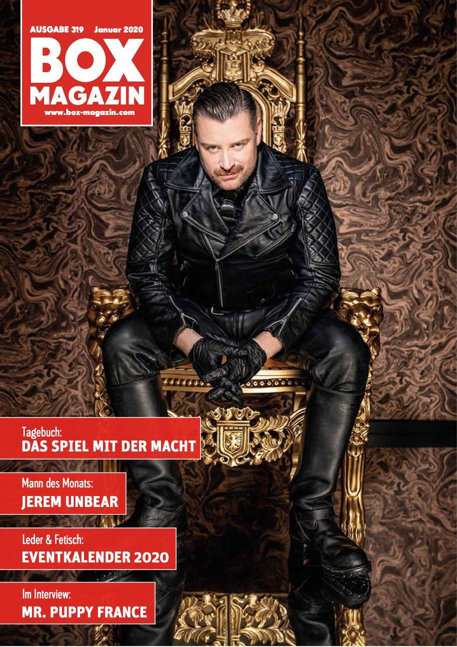 das Foto von Nikitzo wurde BOX Magazin Titelseite mit dem SM Master in Volleder