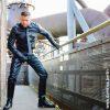 Leder Dominanz und Beherrschung bei SM Master DominusBerlin alias Master Andre in Leder Outfit mit Lederkrawatte und Stiefeln
