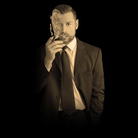 Anzug Fetisch und Zigarren Fetisch mit SM Master Andre alias Dominus.Berlin